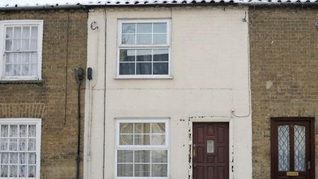 42 New Road Chatteris, a grade II listed building, owned by Peter Taylor who is fighting an oder to