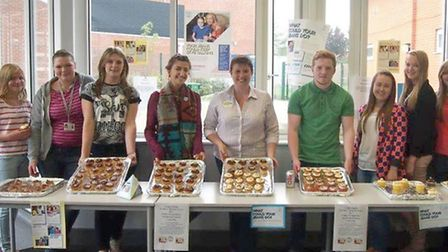 Jeans for Genes Day Our 6th form managed to raise £180.23 at Cromwell community college, Chatteris
