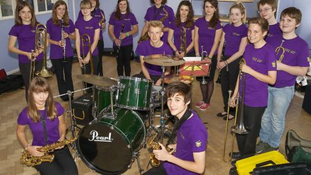 March Youth Swing Band.Picture: Barry Giddings.