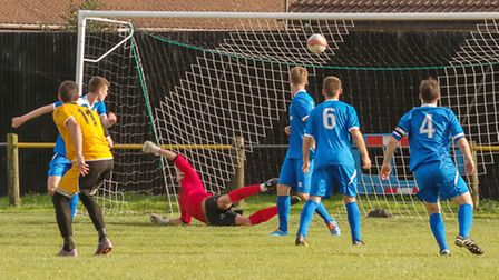March FC v Team Bury FC. Picture: Barry Giddings.