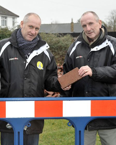 Chairman Phil White and vice chairman Gerry Roe.