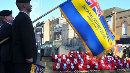 Remembrance Parade, March. Picture: Steve Williams.