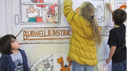 Fun day at Burwell Museum