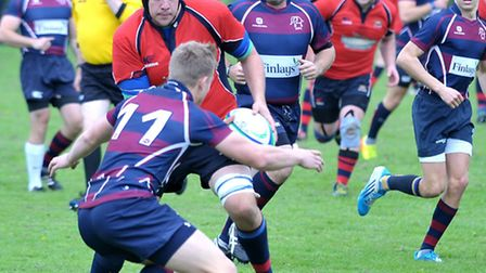Wisbech Rugby v Spalding. Picture: Steve Williams.