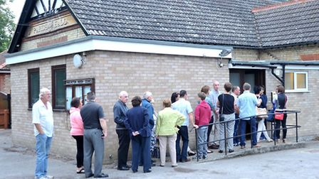 Public meeting about the Anaerobic digestion for Fengrain, Held at Wimblington parish hall. Picture: