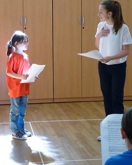 Mini Playwrights Theatre in March