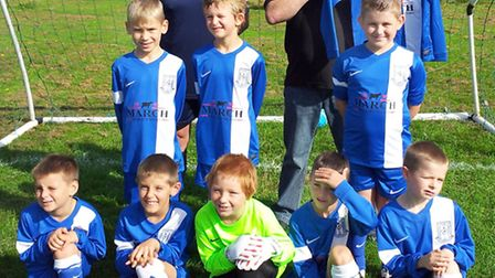 March Quality Meats are the proud new Sponsors of March Soccer School Under 8 White team.