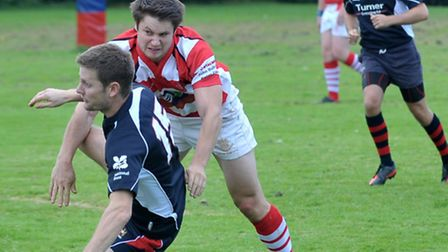 Wisbech rugby v Thetford. Picture: Steve Williams.
