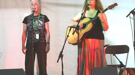 Duo Ann Biggs (left) and Ruth Bramley.
