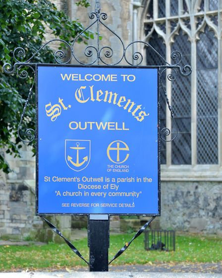 St Clement's Church, Outwell. Picture: Steve Williams.