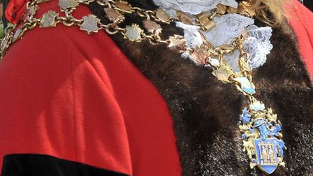 Wisbech Mayoral chain.