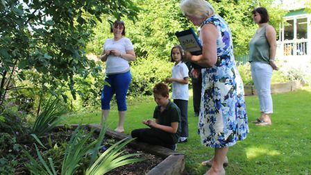 Benwick judges for Anglia in Bloom