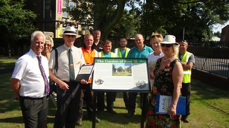 Garden of Rest, Whittlesey, for Anglia in Bloom
