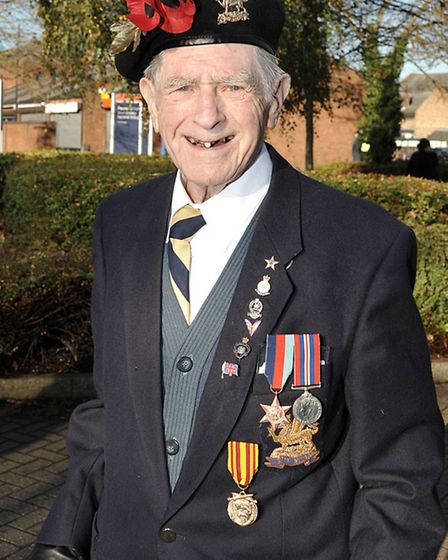 March Remembrance Day Service and Parade. Eric Deuters. Picture Steve Williams