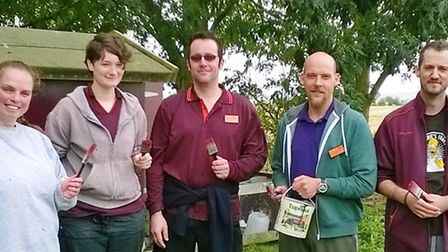 Sainsbury's Ely staff volunteered at Branching Out