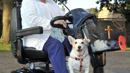 Pet Service at St. Peter's Church March.Picture: Steve Williams.