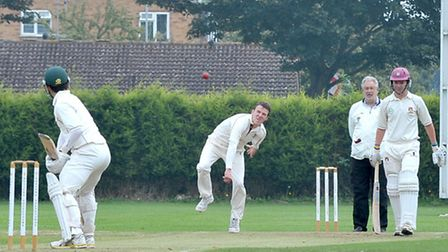 March cricket v Waresley. Picture: Steve Williams.