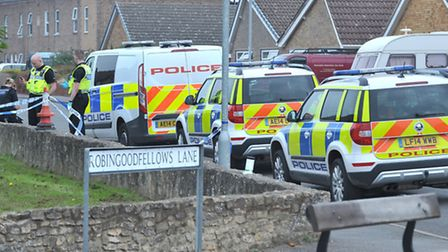 Stabbing at Robingoodfellow's Lane March. Picture: Steve Williams.