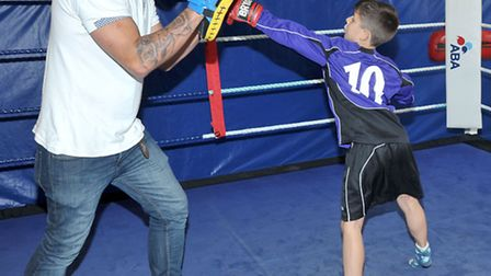 Wisbech Boxing Club open day. Picture: Steve Williams.
