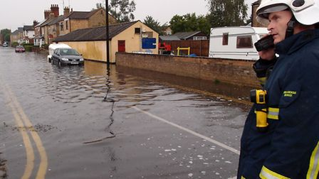 Alpha Street, March, was one of many affected by last month's floods.