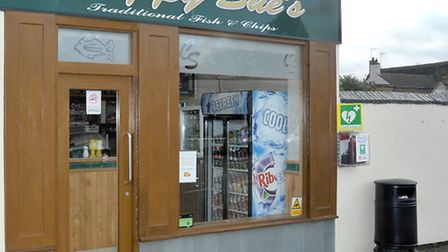 Chippy Sues Delph,Whittlesey. Break in through rear entrance on Wednesday night. Picture: Steve Will