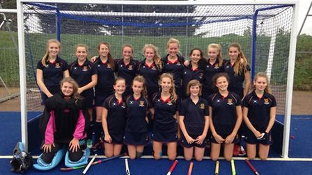 Felsted U14s are county hockey champions
