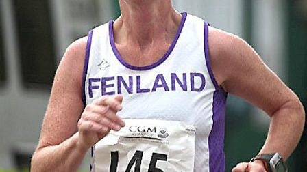 FRC 10 mile road race the CGM Fen10. Maire Irlam