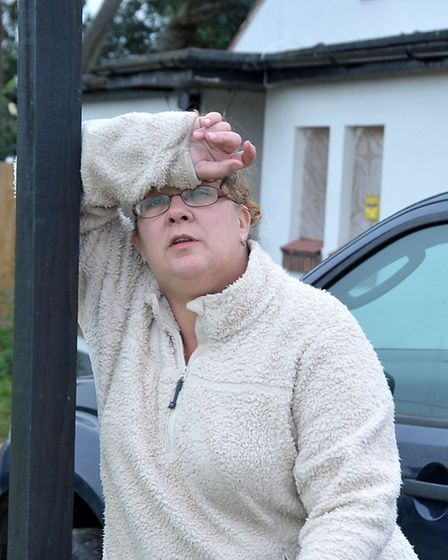 Arson at former Three Holes pub. Wisbech. Owner of the property Sara Ingram. Picture: Steve Williams