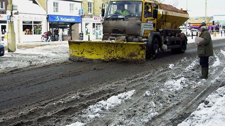 STOCK-gritting