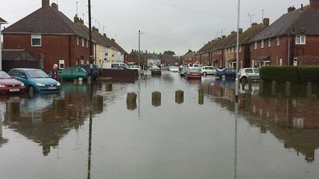 March floods, Readers pictures. Russell avenue. Picture: Sara Vaughan.