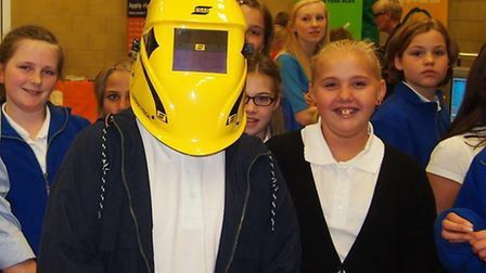 Careers convention, Cromwell Community College, Chatteris