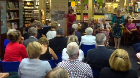 The sell-out book launch audience
