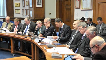 Overview and Scrutiny committee of the leader's annual meeting with the committee.