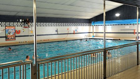George Campbell Leisure Centre's swimming pool is set for a major refurbishment. Picture: Steve Will