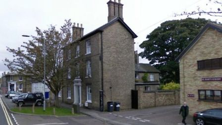 The property in St Mary's Street that was subject of the application