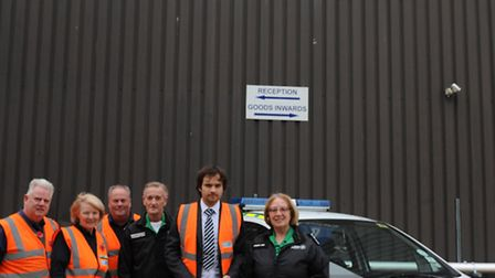Donation to Whittlesey branch of St John Ambulance