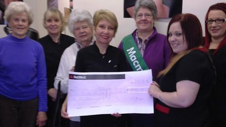 VIP in Walsoken raises over £2,000 for charity