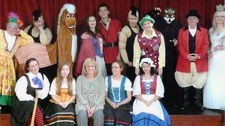 Members of Littleport Players are in final rehearsals for their pantomime, Red Riding Hood.