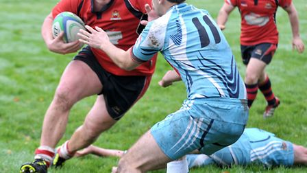 Wisbech rugby v Mersea Island. Picture: Steve Williams.