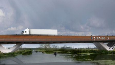 How Ely's new southern bypass could look.