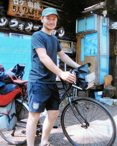 Daniel Doughty that cycled around Asia.