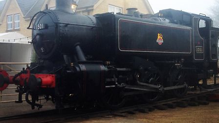 This locomotive will be busy over Christmas.