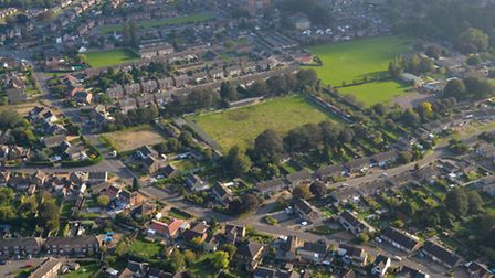 An aerial shot of Fenland Park. Picture: ABOVE ALL IMAGES/ IAN HAY
