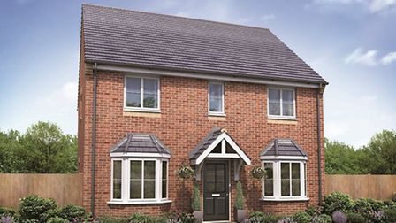 Larkfleet Homes - image of what one of the houses will look like