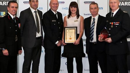 Wisbech firefighters picked up the Operational Excellence Award.