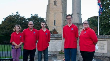 Members of the Chatteris RBL youth section