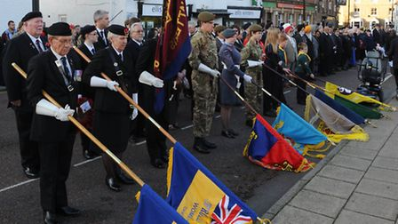 Chatteris Remembrance 2014. Picture: Rob Morris.