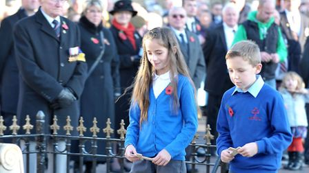 Whittlesey Remembrance 2014. Picture: Steve Williams.