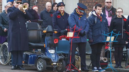 Wisbech Remembrance parade 2014. Picture: Barry Giddings.