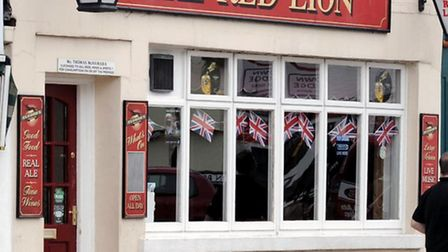 The Red Lion pub, High Street, March